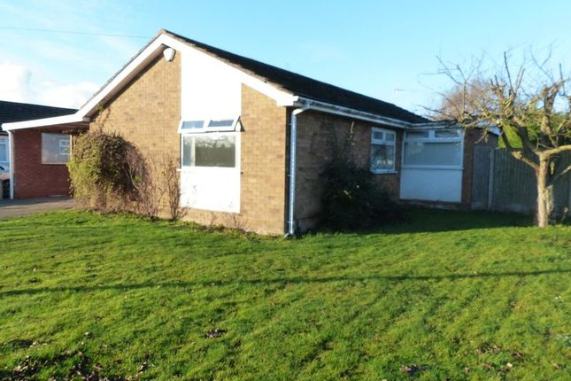 Thumbnail Detached bungalow for sale in Highfield Road, Saxilby, Lincoln
