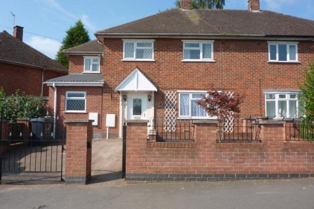 Thumbnail Semi-detached house to rent in Schofield Road, Loughborough