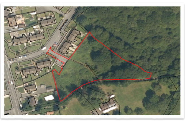 Thumbnail Land for sale in Rear Of Brynderi, Pontyates, Llanelli