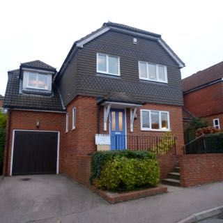 Thumbnail Detached house to rent in Richmond Way, East Grinstead, West Sussex