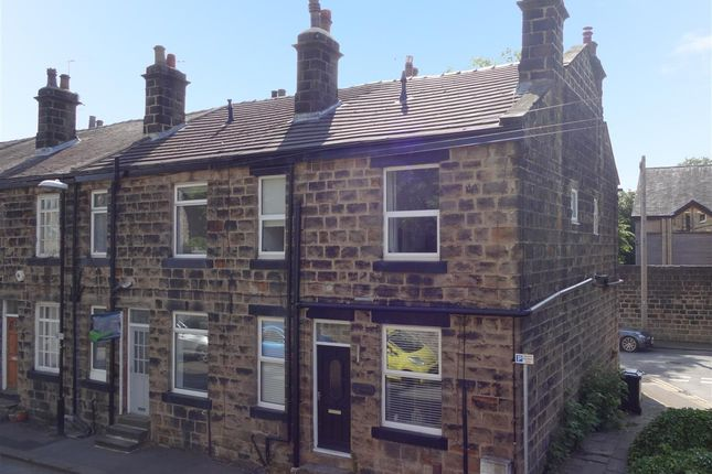 Thumbnail End terrace house to rent in Back Clarence Road, Horsforth, Leeds