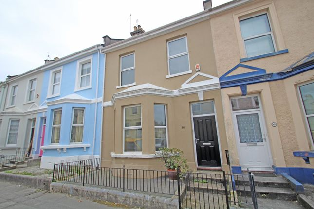 Thumbnail Terraced house for sale in Palmerston Street, Millbridge, Plymouth