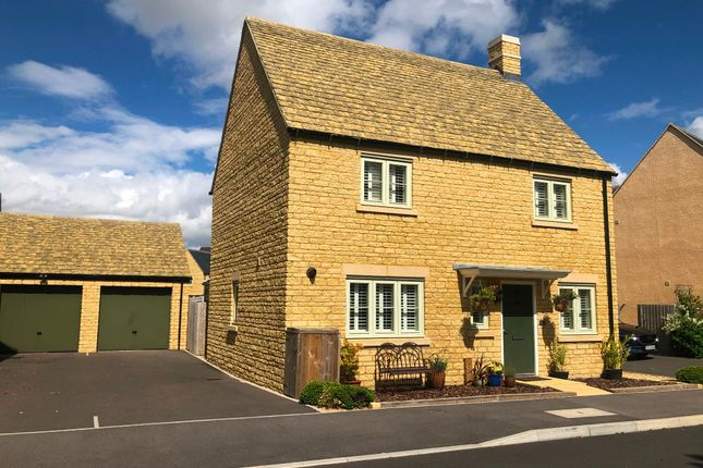Thumbnail Detached house for sale in June Lewis Way, Fairford