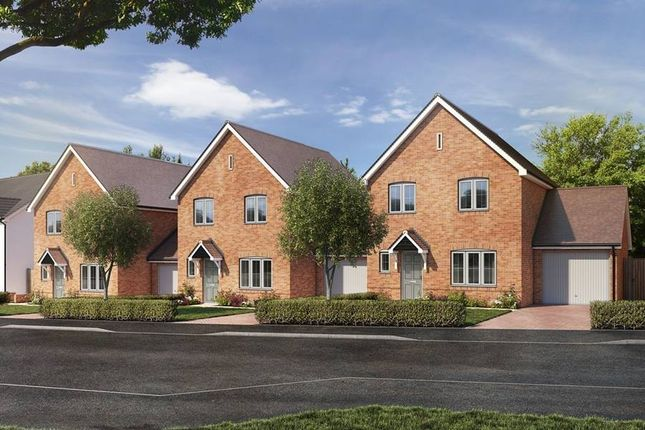 """Thumbnail Detached house for sale in """"The Himscot - Detached"""" at St. Legers Way, Riseley, Reading"""