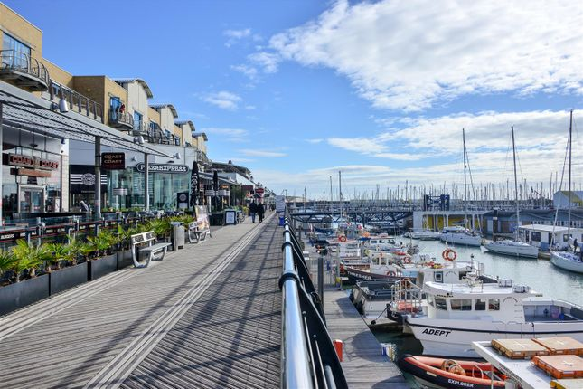 Thumbnail Flat for sale in Sirius, The Boardwalk, Brighton Marina Village