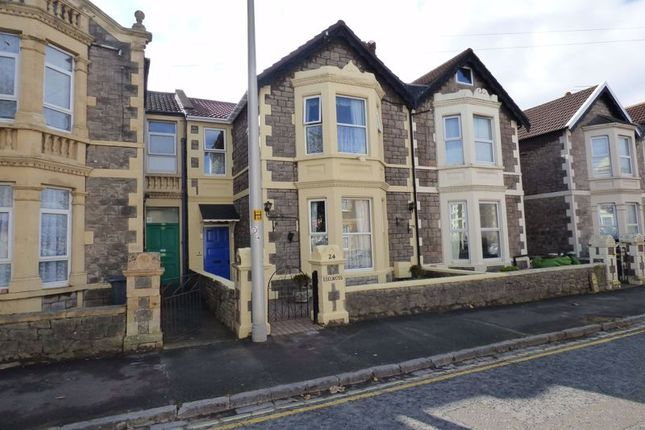 Thumbnail Terraced house for sale in Clevedon Road, Weston-Super-Mare