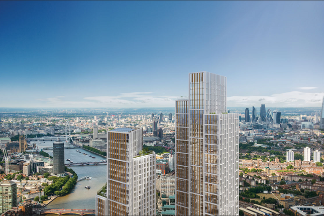 Thumbnail Flat for sale in One Nine Elms, River Tower, Nine Elms, London