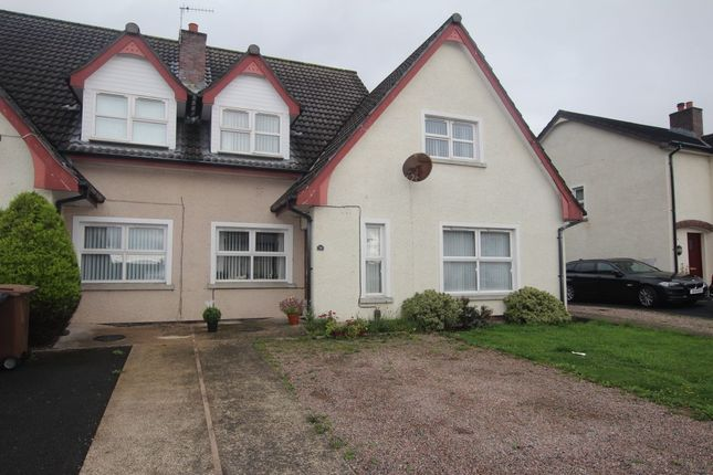 Thumbnail Semi-detached house for sale in Thorburn Road, Newtownabbey