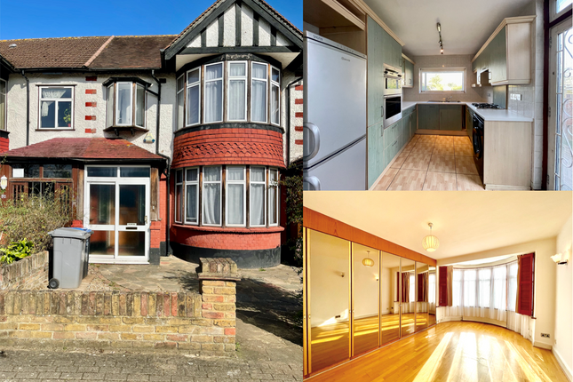Thumbnail Terraced house for sale in Clarendon Gardens, Wembley, Middlesex