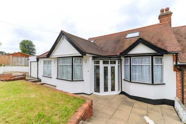 Thumbnail Semi-detached bungalow for sale in Mount Echo Drive, London