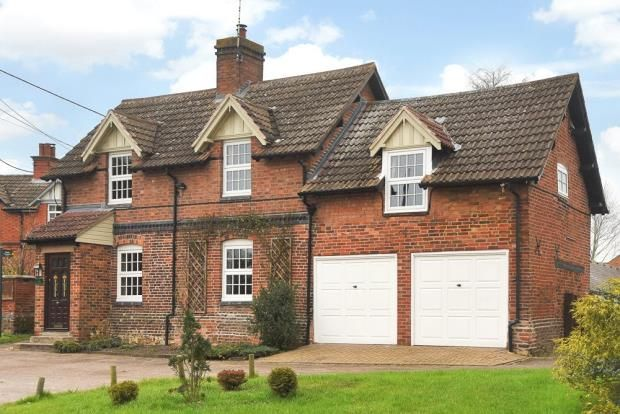Thumbnail Detached house for sale in The Square, Newton Harcourt, Leicestershire