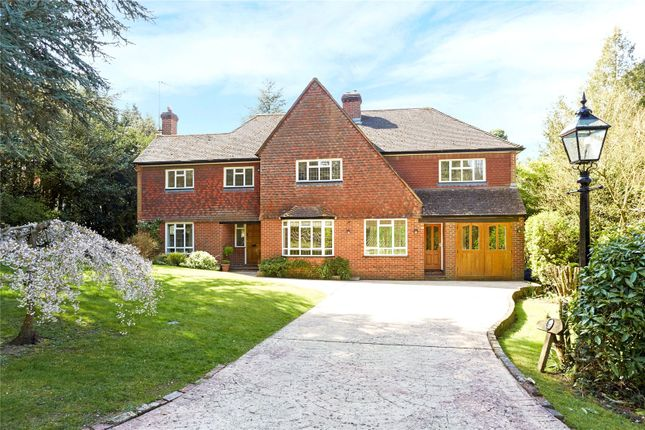 Thumbnail Detached house for sale in Crabtree Drive, Leatherhead, Surrey