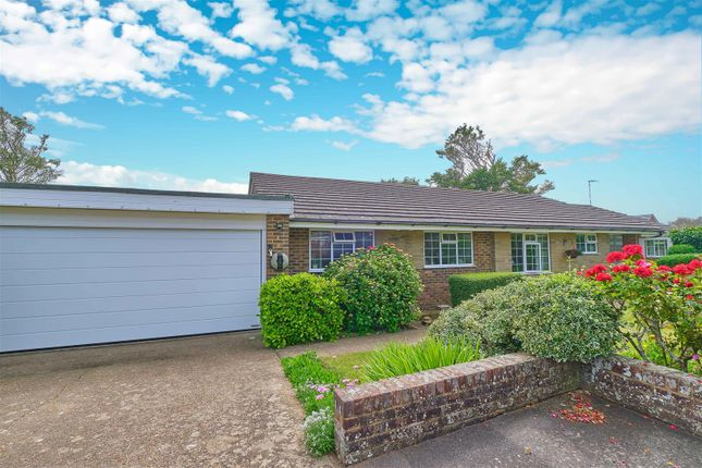 Thumbnail Detached bungalow for sale in Stoke Close, Seaford