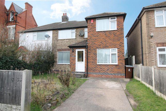 Thumbnail Semi-detached house for sale in Herbert Road, Nottingham