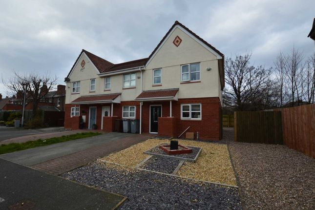 Thumbnail End terrace house to rent in St. Michaels Park, New Ferry, Wirral