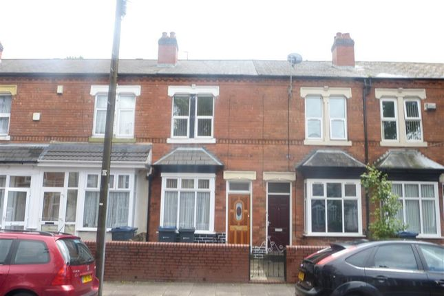 Thumbnail Terraced house to rent in Hutton Road, Handsworth, Birmingham