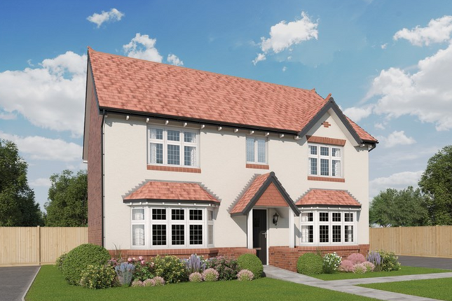 Thumbnail Detached house for sale in Wildings Croft, Fountain Lane, Davenham, Northwich