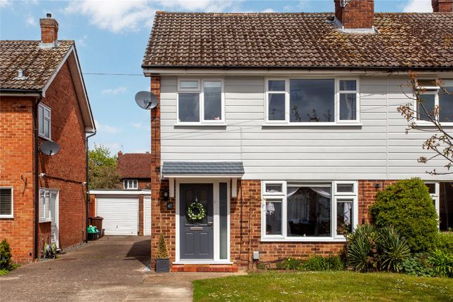 Thumbnail Semi-detached house for sale in Chaseside Avenue, Twyford, Berkshire