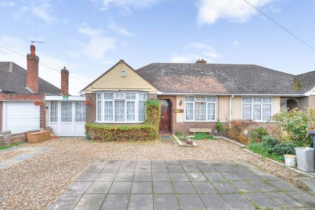 Thumbnail Semi-detached bungalow for sale in Aylesbury Road, Bedford