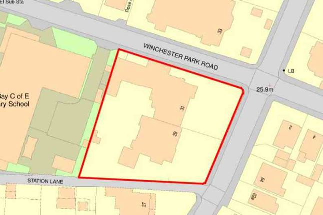 Thumbnail Land for sale in Broadway, Sandown