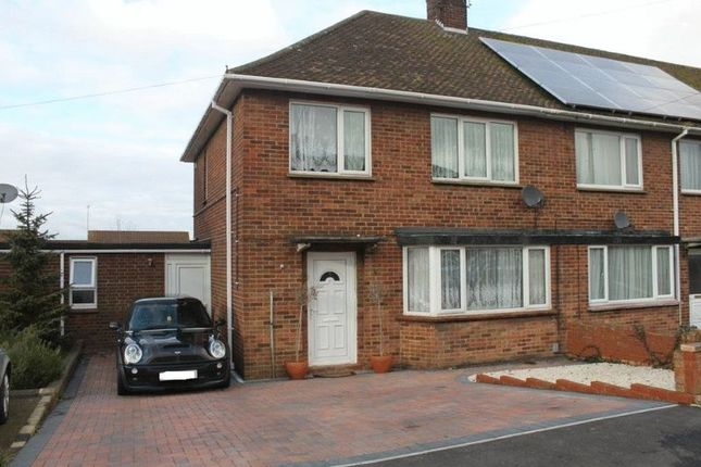 Thumbnail End terrace house for sale in Balmoral Avenue, Rushden