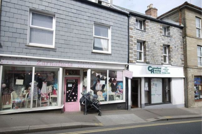 Thumbnail Commercial Property For Sale In Fore Street Camelford