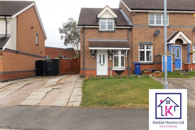 Thumbnail Semi-detached house to rent in Foxes Rake, Cannock
