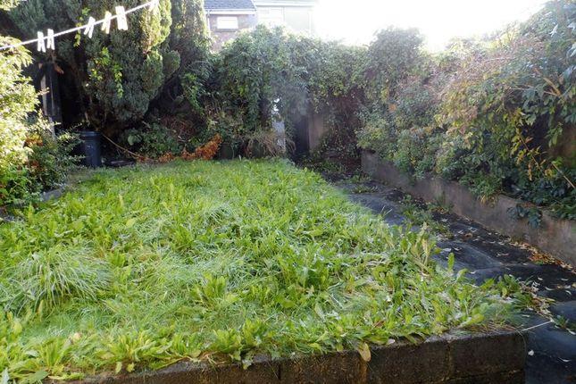 Garden of Waterloo Terrace, Carmarthen SA31