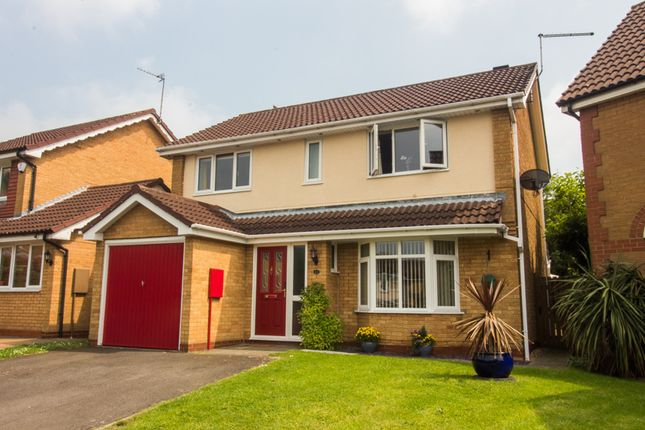 Thumbnail Detached house for sale in Orthwaite, Stukeley Meadows, Huntingdon