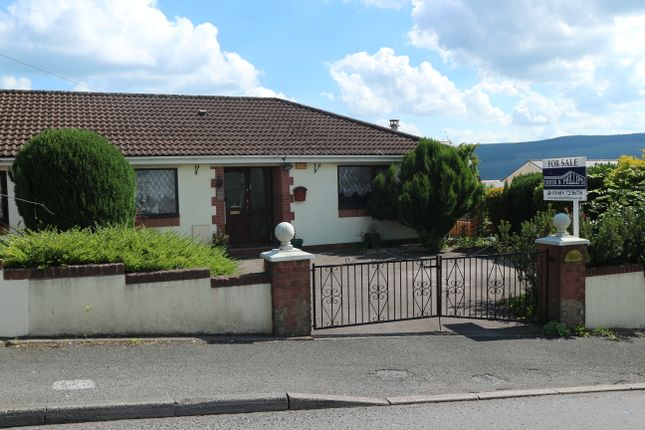 Thumbnail Semi-detached bungalow for sale in Mountain Hare, Twynyrodyn, Merthyr Tydfil