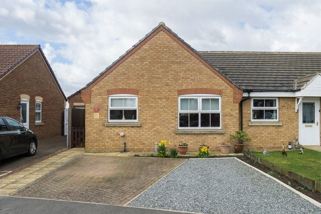 Thumbnail Terraced bungalow for sale in Carrs Meadow, Withernsea, East Riding Of Yorkshire