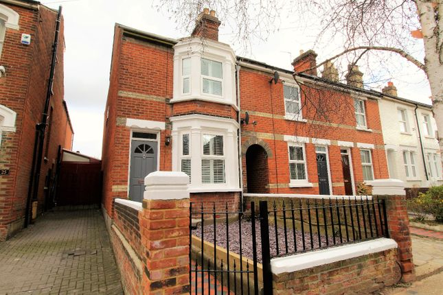 Thumbnail End terrace house to rent in Beaconsfield Avenue, Colchester