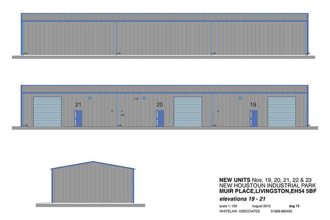 Thumbnail Industrial to let in Dedridge East Industrial Estate, Abbotsford Rise, Livingston