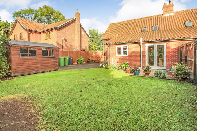 Thumbnail Semi-detached house for sale in Old Street, Newton Flotman, Norwich