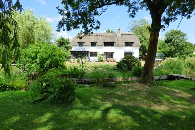 Thumbnail Detached house to rent in Mill Lane, Ramsbury, Marlborough