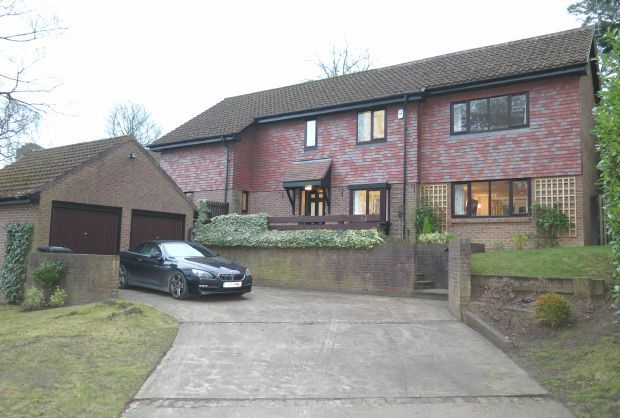 5 bed detached house for sale in Ascot, Burley Wood, Burleigh Road, Royal Berkshire