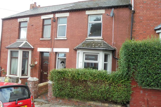 Thumbnail Terraced house to rent in Dovedale Street, Barry