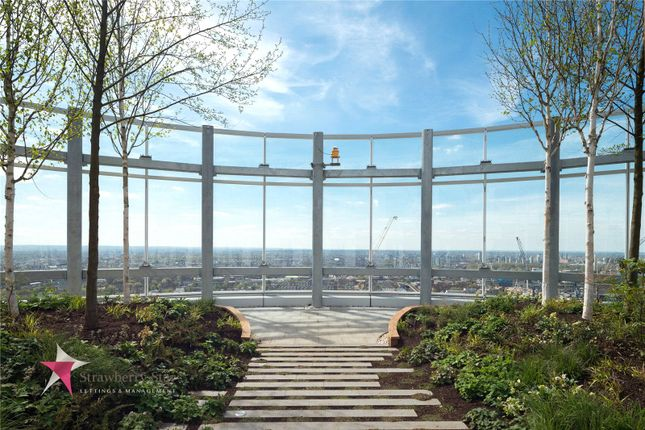 Thumbnail Flat for sale in Sky Gardens, 155 Wandsworth Road, London