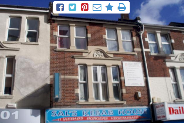 Thumbnail Flat to rent in St. Marys Road, Southampton