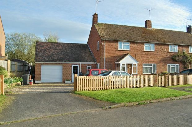 Thumbnail Semi-detached house for sale in Oak Street, Weedon, Northampton