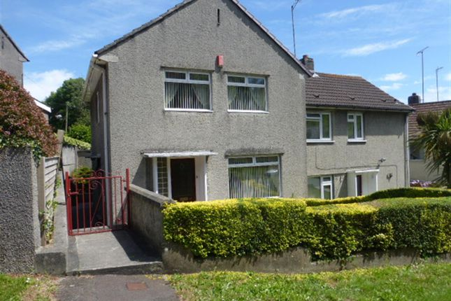 Thumbnail Semi-detached house for sale in Pike Road, Laira, Plymouth