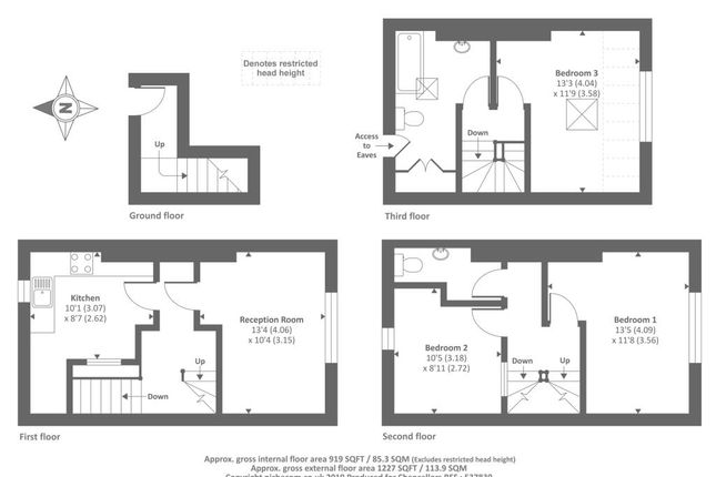 Floor Plan of High Street, Knighton LD7