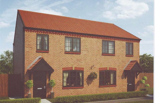 Thumbnail Semi-detached house for sale in Arcot Manor, Cramlington