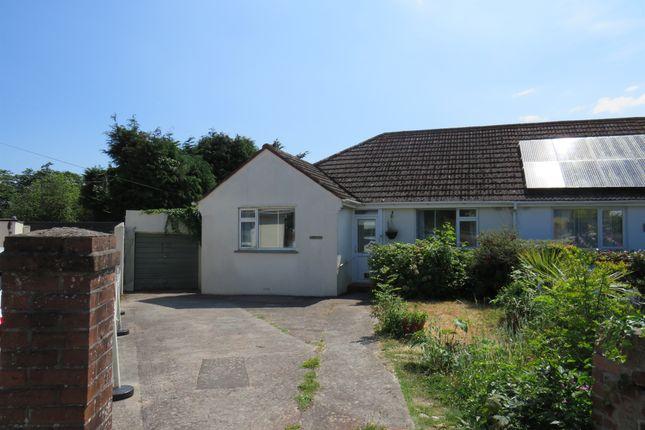 Thumbnail Semi-detached bungalow for sale in Suncrest Close, Torquay