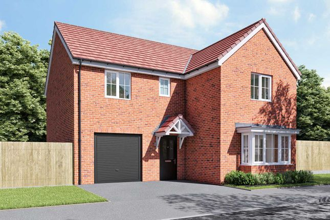 "Thumbnail Detached house for sale in ""The Grainger"" at Thorney Green Road, Stowupland, Stowmarket"