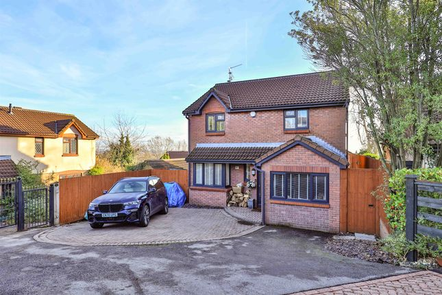 Thumbnail Detached house for sale in Old Hill, Old St. Mellons, Cardiff