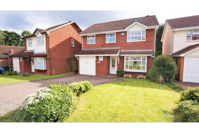 Thumbnail Detached house for sale in Sir Alfreds Way, Sutton Coldfield