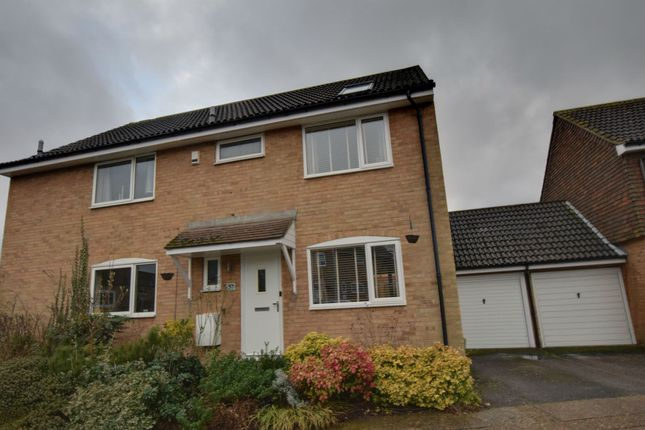 Thumbnail Semi-detached house for sale in Seven Acres, Longfield, New Ash Green