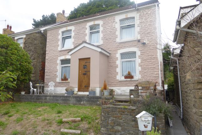 Thumbnail Detached house for sale in Church Road, Cadoxton, Neath