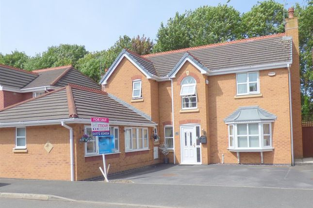 Thumbnail Detached house for sale in Smithford Walk, Tarbock Green, Liverpool